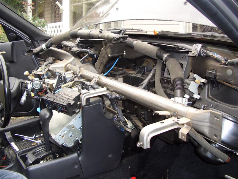 nissan altima heater core replacement