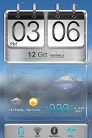 Screenshot of 3D Sense HTCstyle MXHome Theme