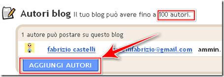 come aggiungere autore blog blogspot