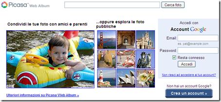 come archiviare condividere foto online