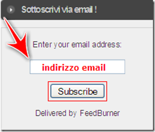 come inviare newsletter post blog blogger