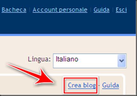 come creare altro nuovo blog stesso account blogger