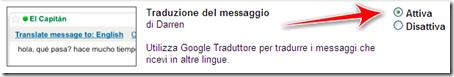 come tradurre automaticamente mail gmail