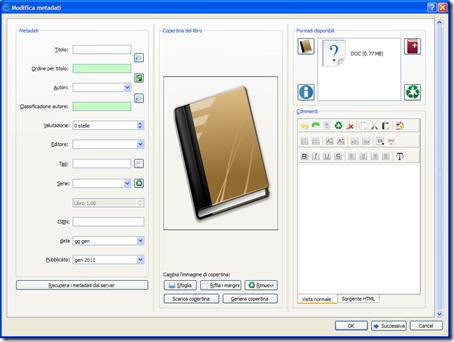 convertire ebook gestire formati file calibre epub pdf