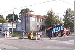 Trabajos en las Calles de Zona Centro