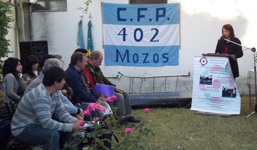 Apertura Ciclo Lectivo 2011 C.F.P Nº 402