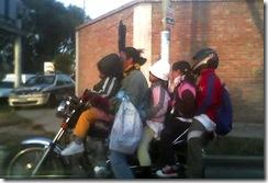 Irresponsabilidad al manejo de motos