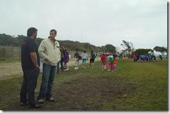 Juan Pablo de Jesús en competencia de Atletismo en Mar de Ajó