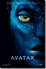 Cartel promocional de la nueva producción, dirección y guión (con permiso de Poul anderson) Avatar, de James Cameron