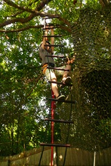 Rope ladder in action  - Sheva Apelbaum