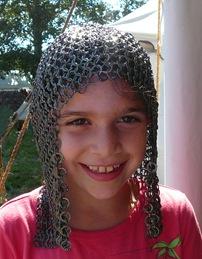 Avital in armor - Sheva Apelbaum