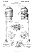 1899 Light Bulb Pull Switch Patent-Sheva Apelbaum
