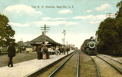 Sayville Railroad Station 1912-Sheva Apelbaum