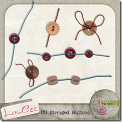 string buttons