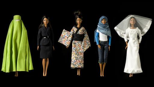 Barbies unique dolls