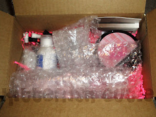 NV Beauty Parcel including Bubble Wrap