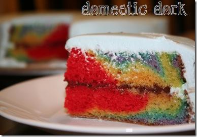 rainbow cake wilton decorating class