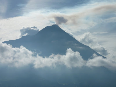 Gunung Merapi from Ketep Pass