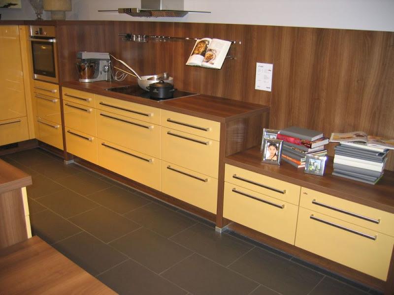 Impuls Wohnküche mit Inselblock