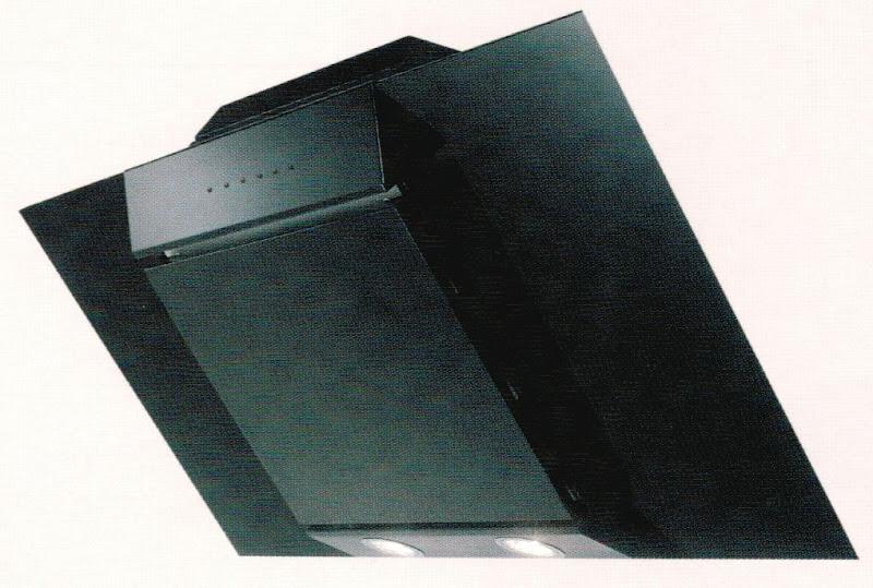design kopffreiwandhaube 60cm glas schwarz schr ghaube ebay. Black Bedroom Furniture Sets. Home Design Ideas
