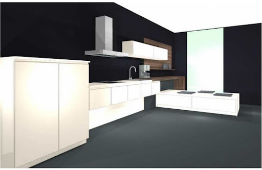 alnostar einbauk che front magnolienweiss. Black Bedroom Furniture Sets. Home Design Ideas