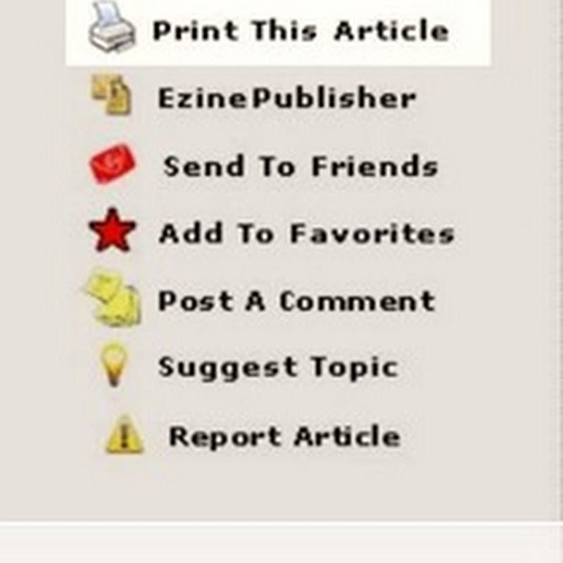 Create printer friendly blog pages