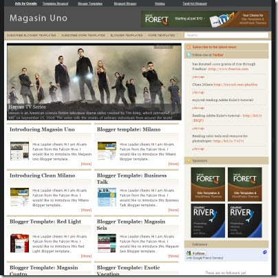 magasin-uno blogger template