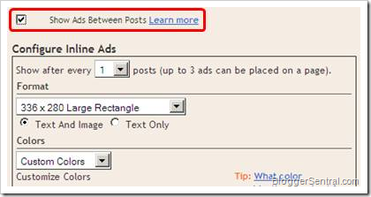 adsense inline ad