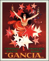 Advertising Poster for Gancia
