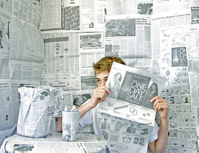 The Paper Boy by Mike Bailey-Gates on Flickr [used under Creative Commons license]