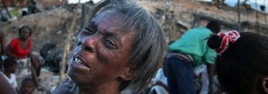 Quake victim
