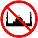 No mosques symbol