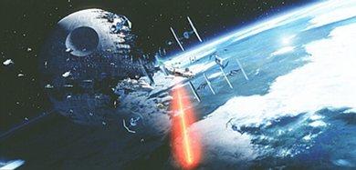 Death Star battle from Star Wars