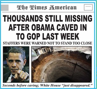 Thousands still missing after Obama caved to GOP last week!