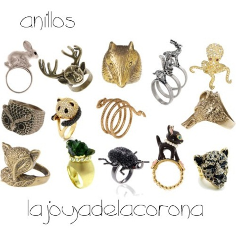 anillos animal