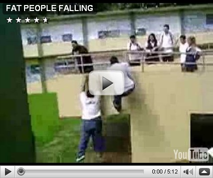 FAT PEOPLE FALLING:The Video Analyst