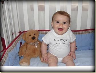 Isaac 8 months