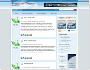 Natural Oxygen Spa Magazine Template, Magazine Template, Online Magazine