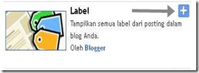 widget label