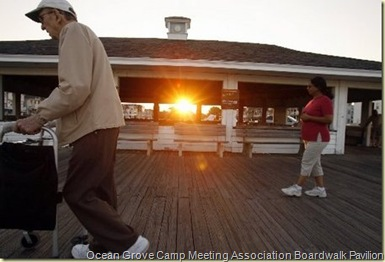 Ocean Grove Camp Meeting Association Boardwalk Pavilion