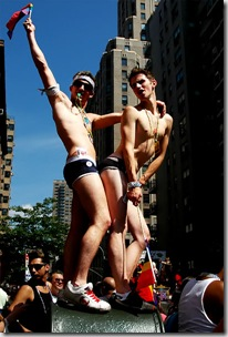 Firefighters forced into gay parade