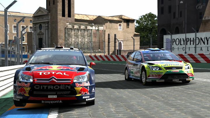 You're driving a Citroen C4 WRC in the 5th race.
