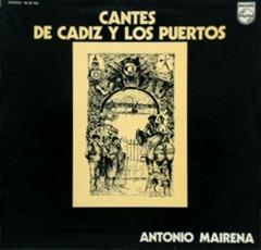 (1973-LP) Cantes de Cádiz y los Puertos