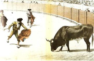 Un manso entablerado (La lidia 30-03-1900)