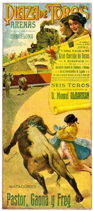 Luis Freg Cartel Barcelona 001