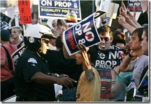 protester-police