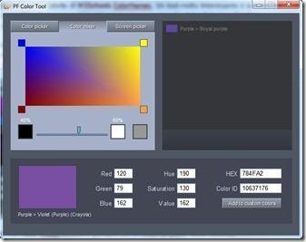 color mixer di pf color tool