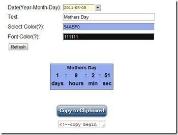 festa della mamma widget