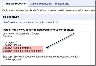 file robots.txt blogger