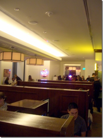 Burger Bar Booths